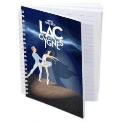 Carnet Affiche Mon premier Lac des Cygnes